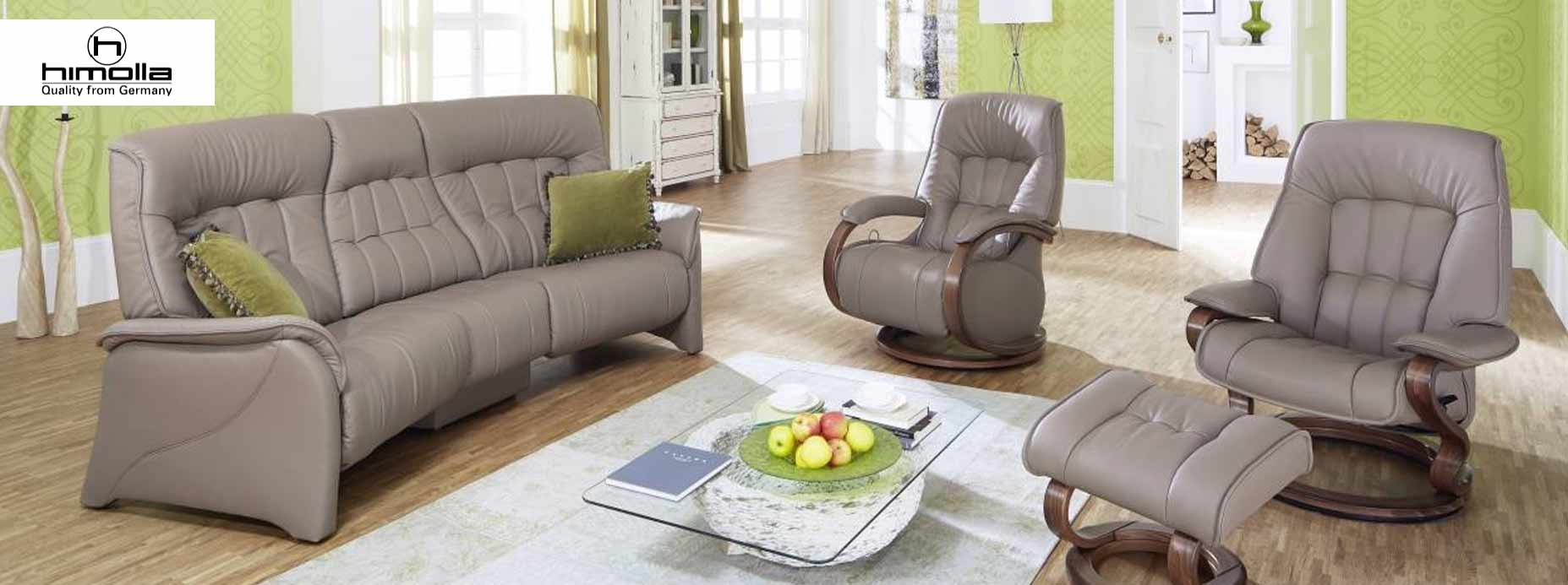 Himolla Leather Recliner & Sofas