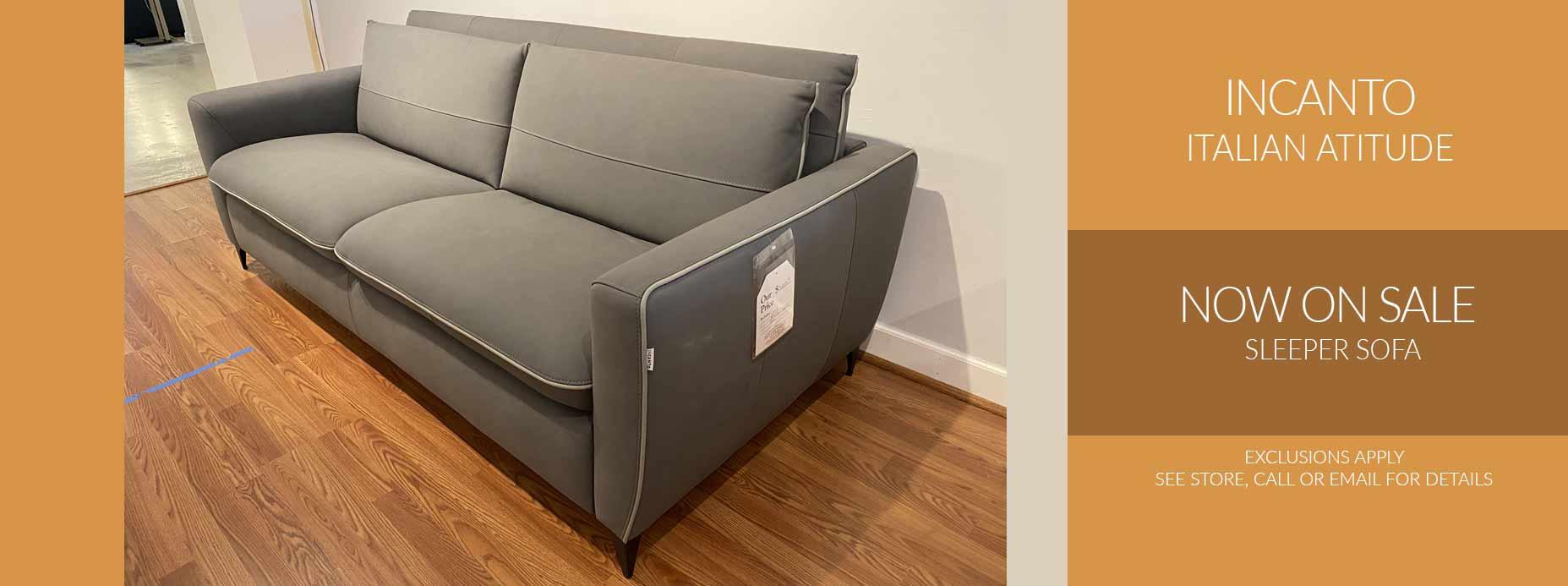 Incanto Sleeper Sofa Sale