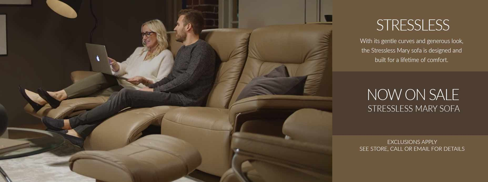 Stressless Sale on Mary Sofa