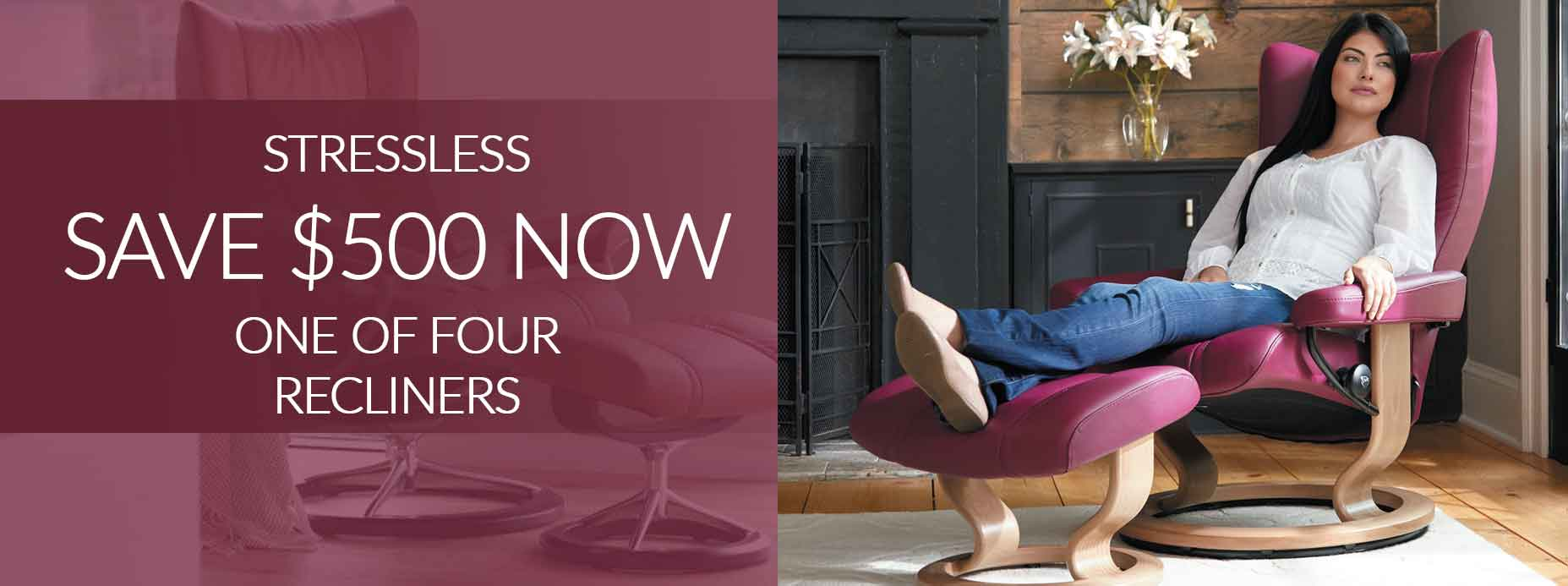 Stressless Mayfair Recliners Save $400