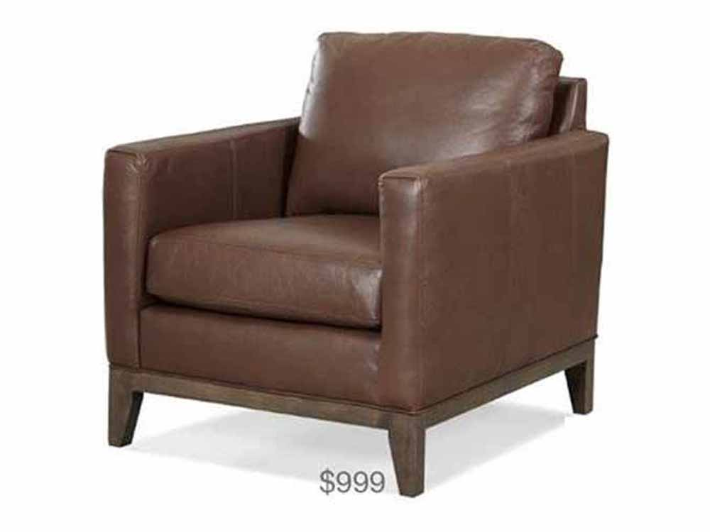 Paolini Gemma Leather Chair