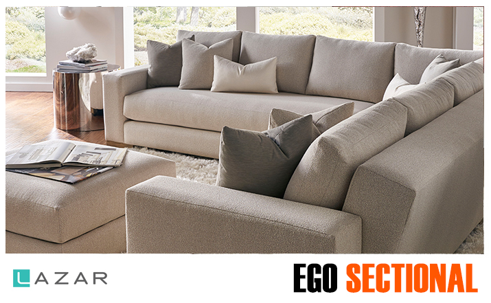 Ego Sectional Lazar