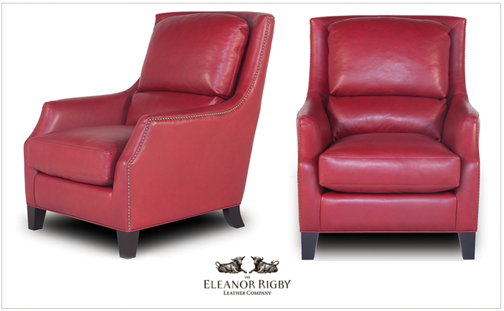 Eleanor Rigby Leather Chair