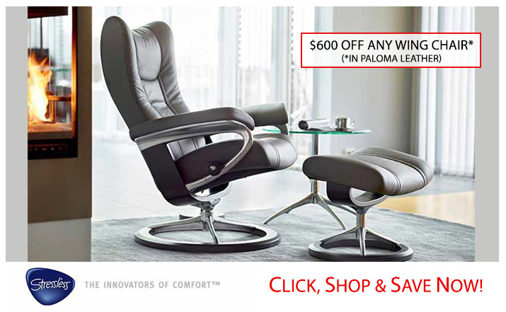 Signature Chair Stressless Wing