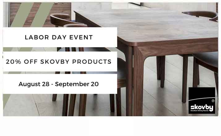 Save 20% on Skovby Furniture